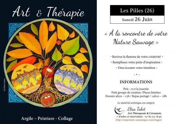 """Atelier d'Art & Thérapie : """"A la rencontre de votre Nature Sauvage """""""